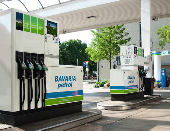 BAVARIA Petrol Tankstellen
